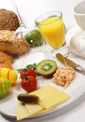 Frühstücksgedeck zu Ostern