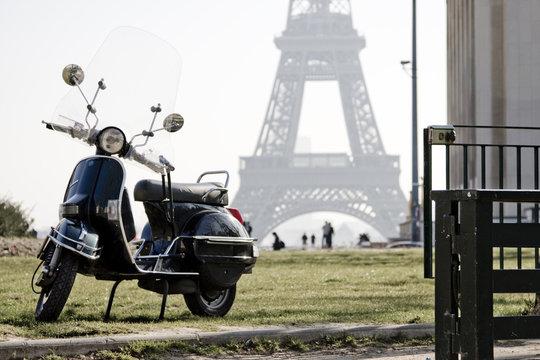 tour et scooter de collection