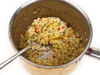 perlgraupen/gersten risotto
