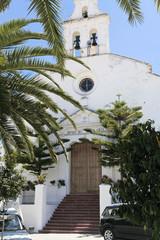 Dorfkirche mit Plamen  in El Gastor, Andalusien
