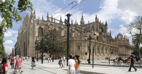kathedrale in Sevilla, Panorama