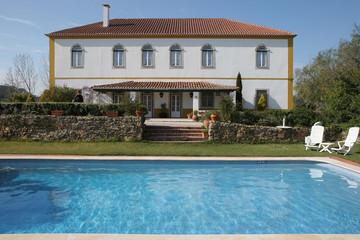 Village of Obidos, Portugal, hotel