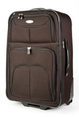 Black Mid Size Luggage Suitcase On Wheels