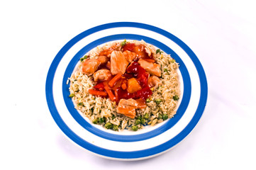 Sweet and Sour Chicken,