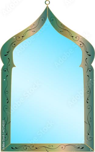 Miroir marocain fichier vectoriel libre de droits sur la for Miroir dessin