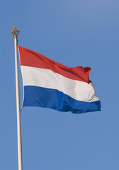Dutch Flag at Paleis Het Loo (Royal Palace in The Netherlands)