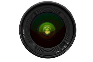 lens isolated on white