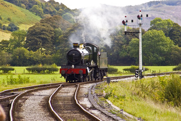 Steam Engine Approaching