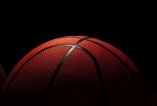 the ball to the basketball