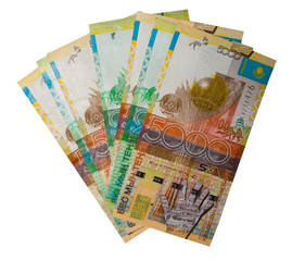 Kazakhstan money. Denominations.