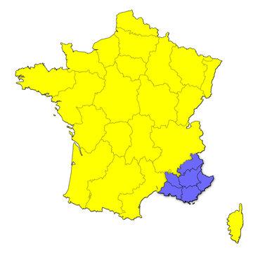 Provence Alpes et Côtes d'Azur