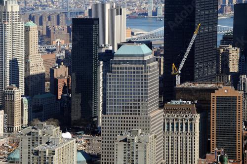 wolkenkratzer in new york mit ground zero stockfotos und lizenzfreie bilder auf. Black Bedroom Furniture Sets. Home Design Ideas