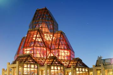 Canada's National Gallery Nightshot