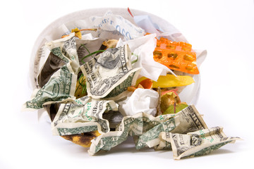 Dollar rubbish