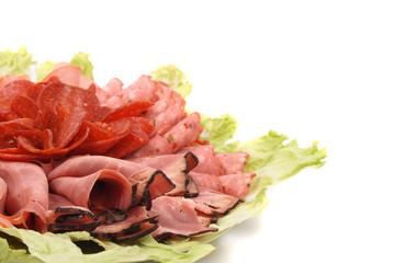 salami background