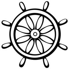 ship control wheel