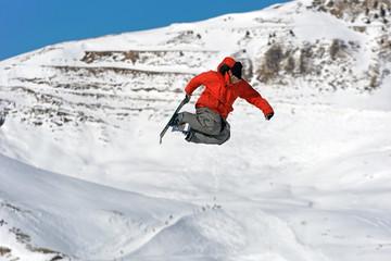 Saut ski rider