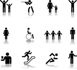 Set icons - 15. People