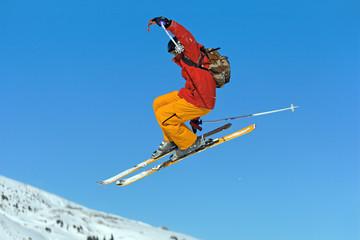 Figure skieur