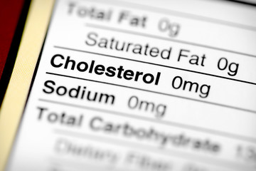 Low in cholesterol