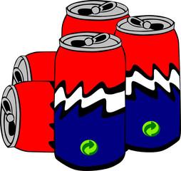 latas lixo