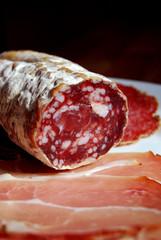 salami with ham
