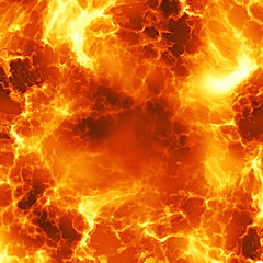 FIreball explosion
