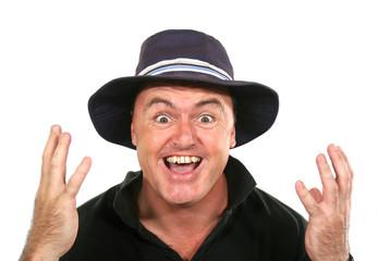 Eureka Man In Hat