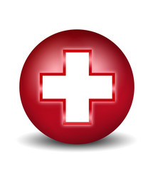 AID Sign - red