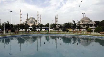 ponte e moschea Blu