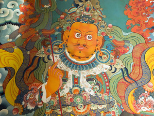 Buddhist painting in Tibet