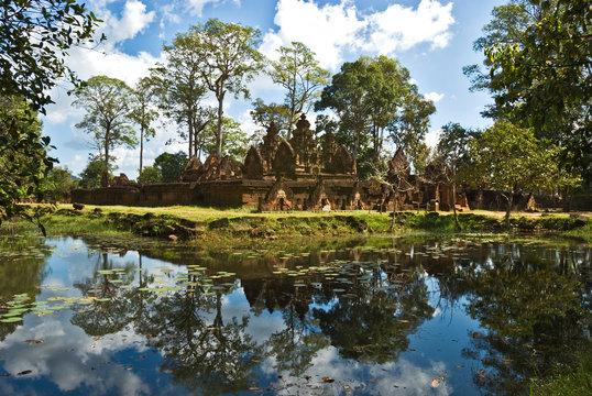 Banteay Srei Temple, Cambodia.
