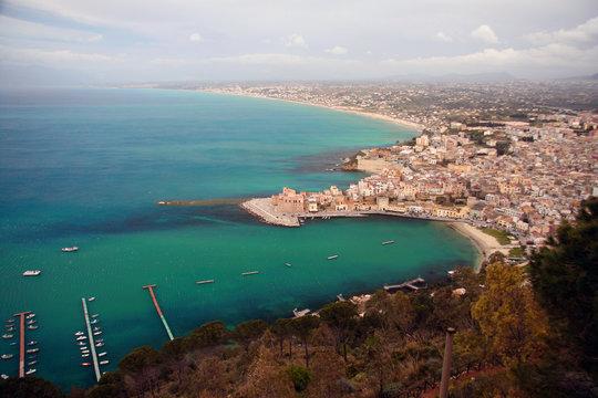Castelmare del Golfo auf Sizilien