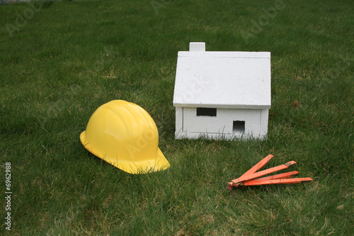 Haus bauen stockfotos und lizenzfreie bilder auf fotolia for Haus bauen firmen