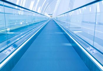 Moving walkway at Copenhagen Airport