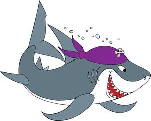Shark Pirate