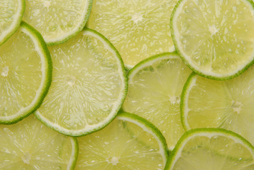 Sliced lime