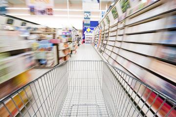 Supermarché et course
