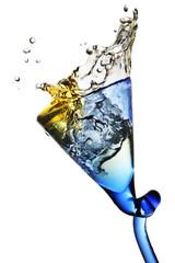 Fototapete - splash in a glass