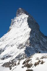 Famous Matterhorn. Swizz side