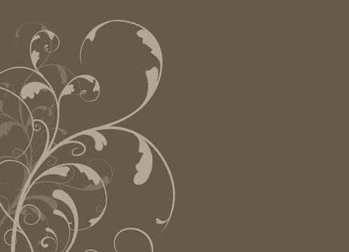 vector serie - flower arabesques