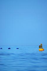 Boje im Meer