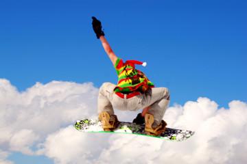 Snowbard Kunstfliegen
