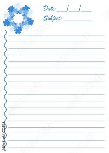 blue snowflake stationery stock photo and royalty free images on