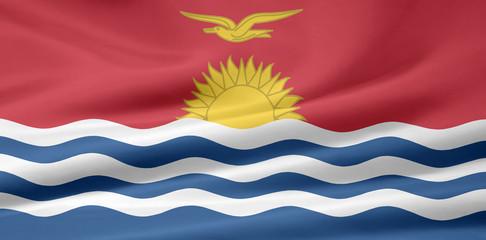 Kiribatische Flagge