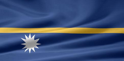 Nauruische Flagge