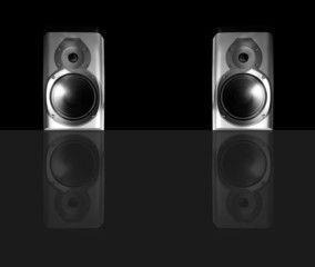 Stereo speakers pair