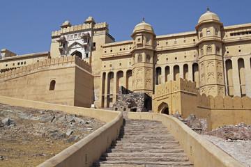 Fotorolgordijn Algerije Entrance to Amber Palace