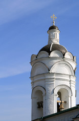 Old russian belltower in Kolomna