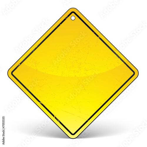 panneau jaune fichier vectoriel libre de droits sur la banque d 39 images image 7055535. Black Bedroom Furniture Sets. Home Design Ideas